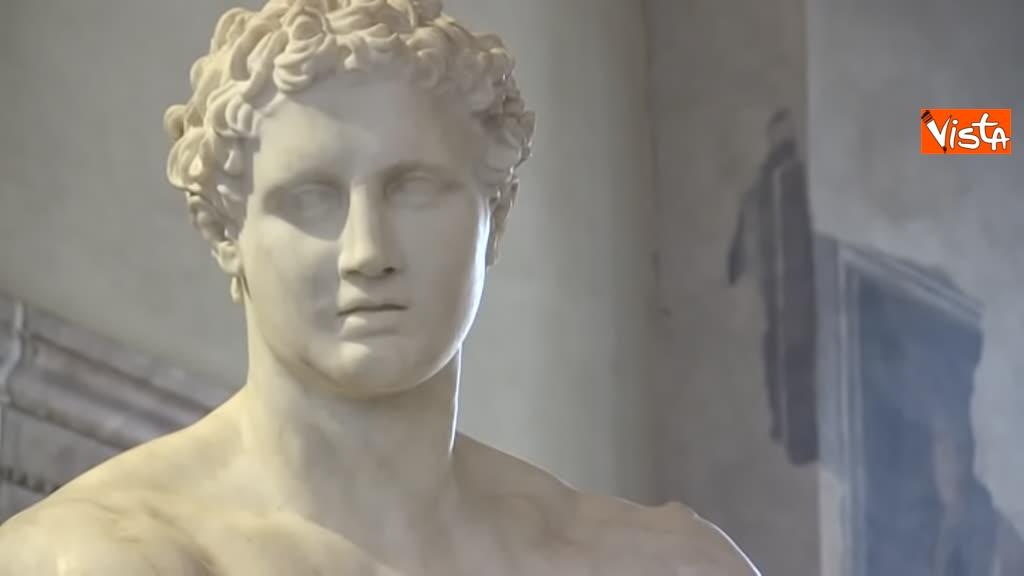 05-03-19 Bonisoli visita le meraviglie di Palazzo Altemps a Roma_06