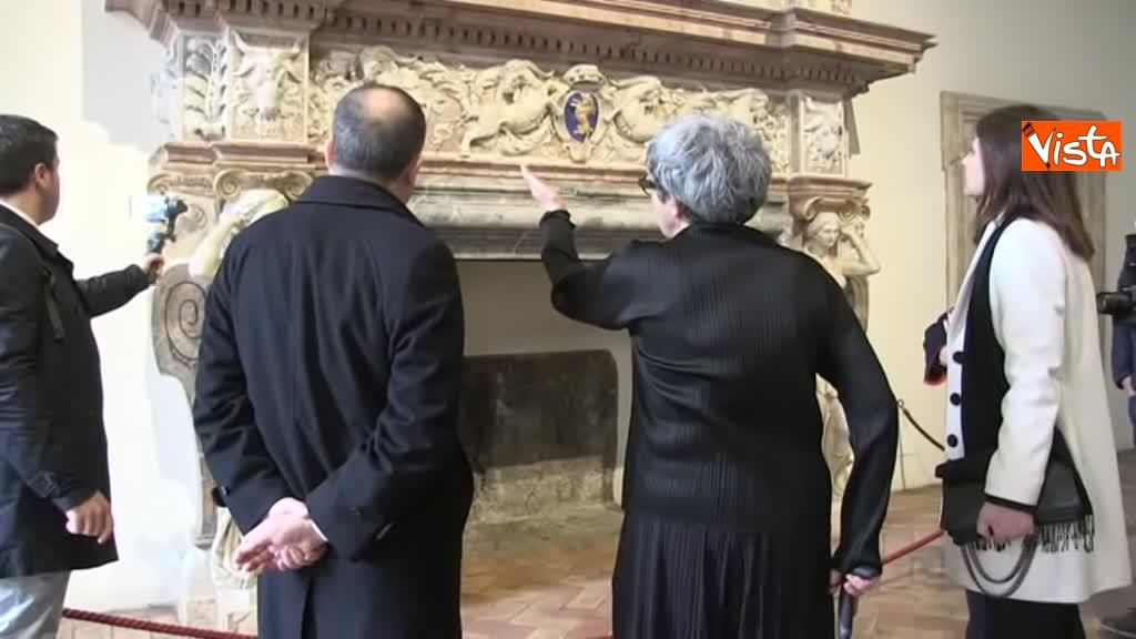 05-03-19 Bonisoli visita le meraviglie di Palazzo Altemps a Roma_11
