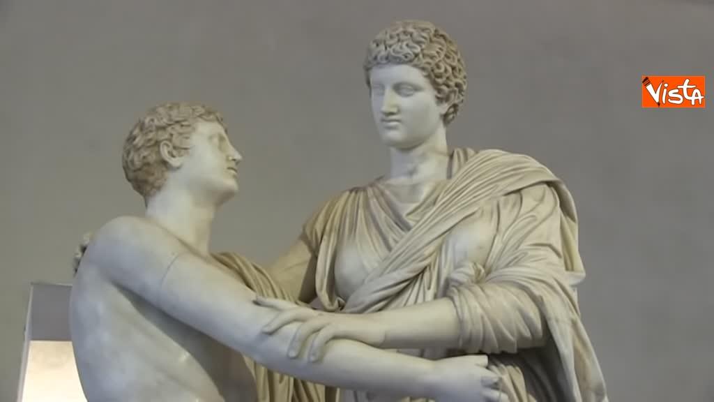 05-03-19 Bonisoli visita le meraviglie di Palazzo Altemps a Roma_07