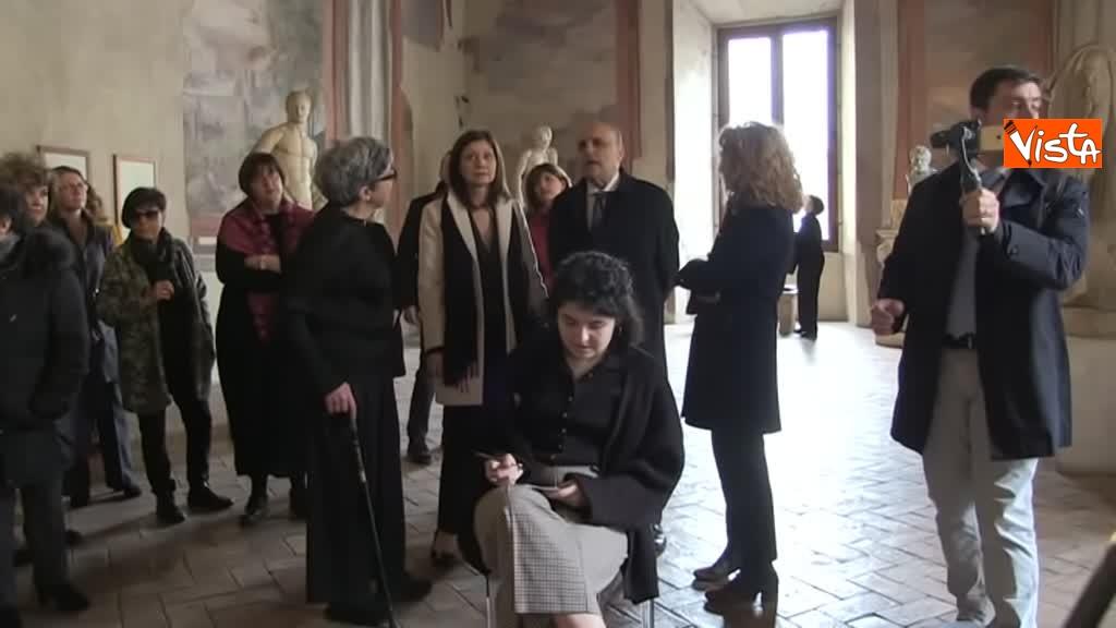 05-03-19 Bonisoli visita le meraviglie di Palazzo Altemps a Roma_05
