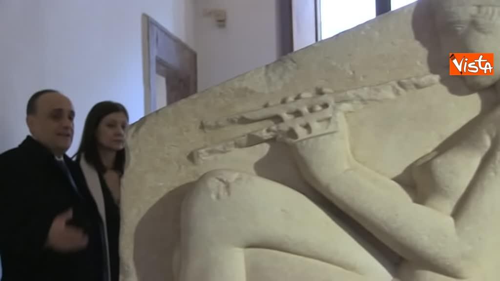 05-03-19 Bonisoli visita le meraviglie di Palazzo Altemps a Roma_09