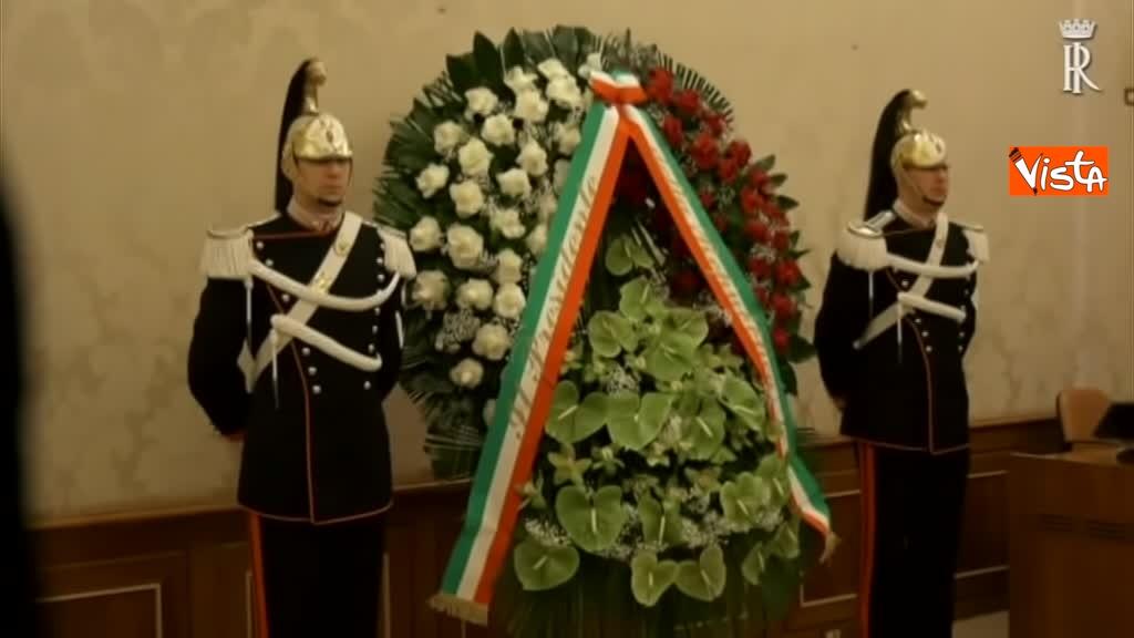 16-02-19 Mattarella alla camera ardente dell'On Adriano Ossicini 01
