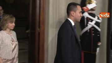 2 - Delegazione M5s dopo consultazioni con Mattarella