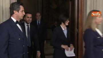 1 - Delegazione M5s dopo consultazioni con Mattarella