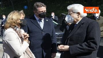 1 - Mattarella rende omaggio alle vittime delle Fosse Ardeatine