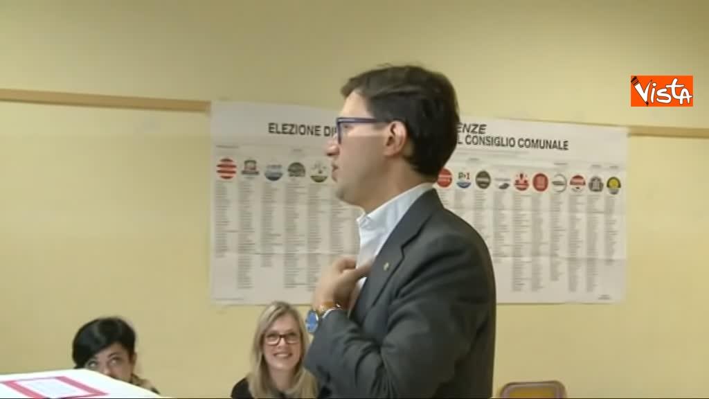 26-05-19 Comunali Firenze il voto del candidato sindaco Nardella_06