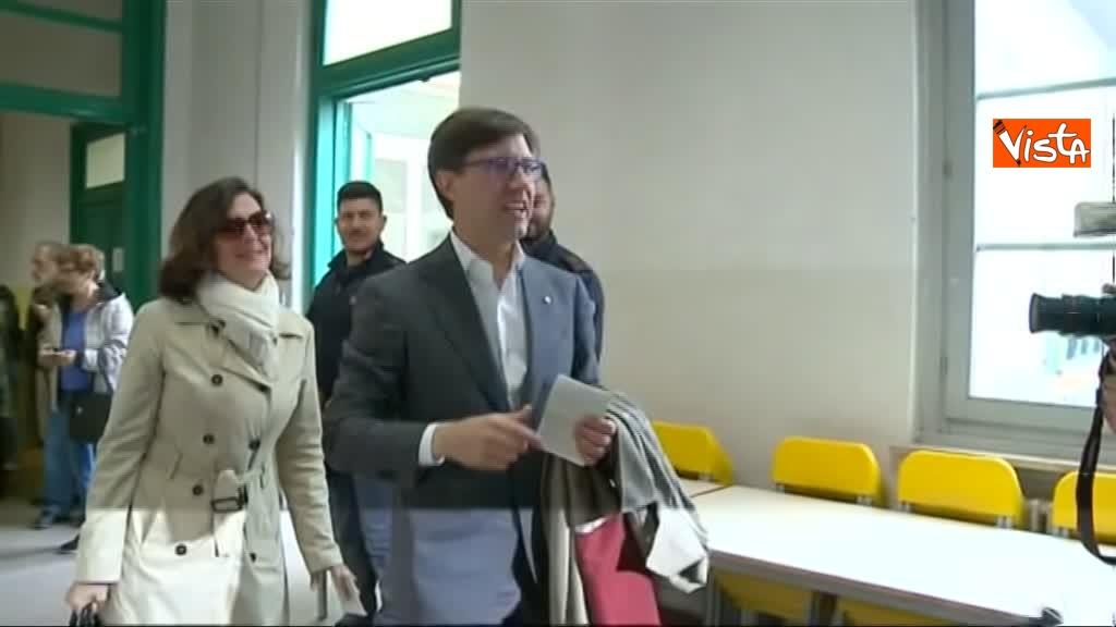 26-05-19 Comunali Firenze il voto del candidato sindaco Nardella_03