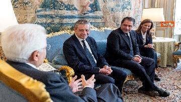 1 - Mattarella incontra i vertici del quotidiano 'La Repubblica'