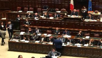 7 - Il voto di fiducia sulla Manovra alla Camera dei Deputati