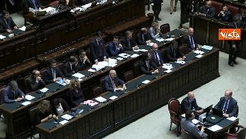 2 - Conte replica in aula a Montecitorio prima del voto di fiducia