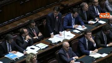 5 - Conte replica in aula a Montecitorio prima del voto di fiducia