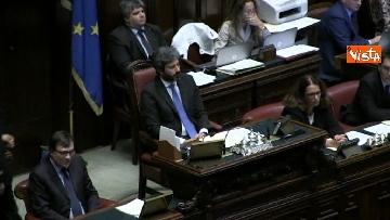 8 - Conte replica in aula a Montecitorio prima del voto di fiducia