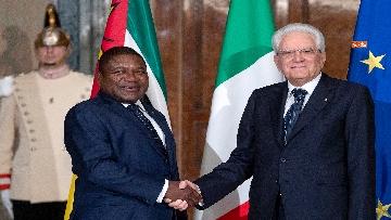 1 - Mattarella incontra il Presidente del Mozambico al Quirinale