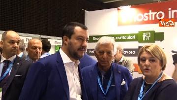 6 - Salvini al Festival del Lavoro a Milano