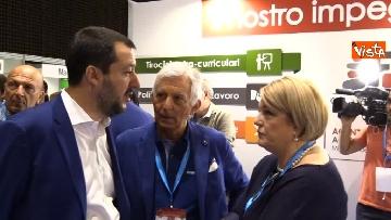 7 - Salvini al Festival del Lavoro a Milano
