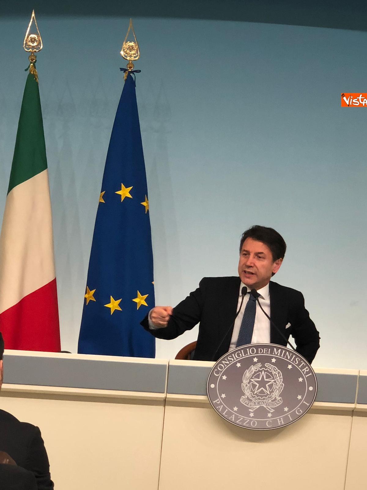 07-03-19 Tav Conte in conferenza stampa a Palazzo Chigi immagini_07