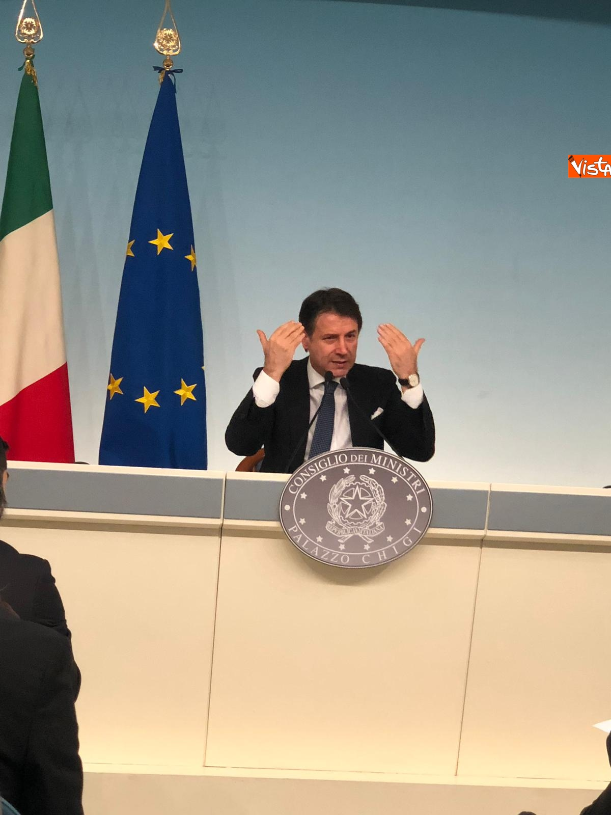 07-03-19 Tav Conte in conferenza stampa a Palazzo Chigi immagini_09