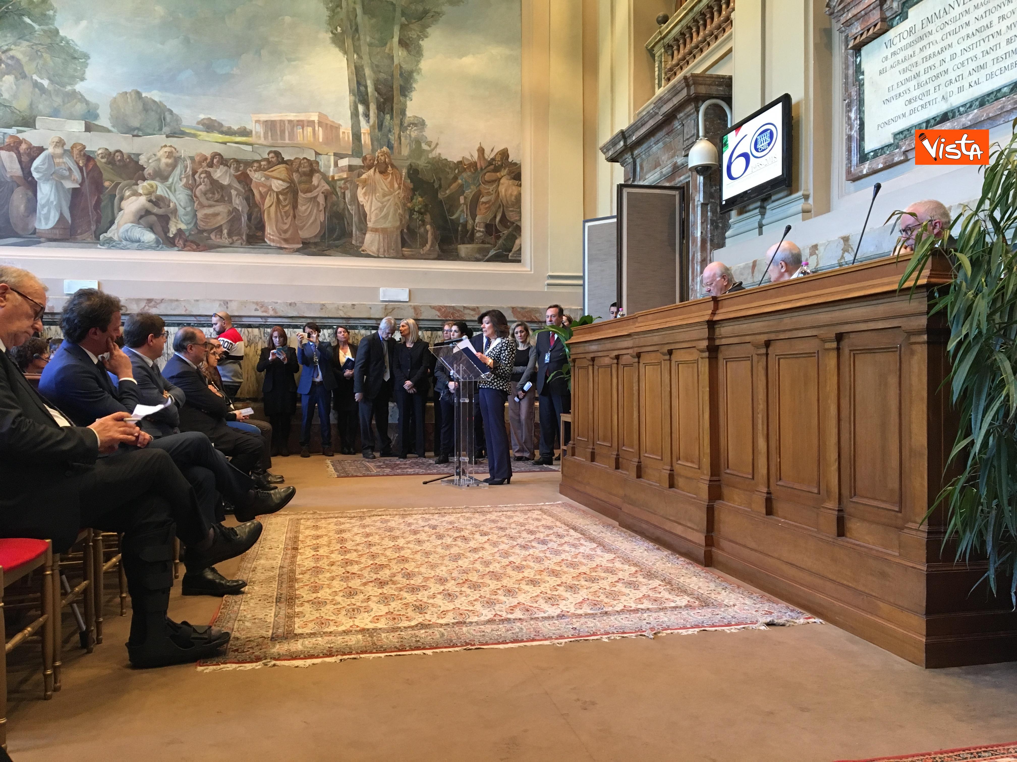 12-03-19 Cnel celebra 60 anni_la presidente del Senato Casellati_05