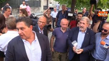 1 - Ponte Morandi, consegnate le chiavi alle prime 5 famiglie sfollate