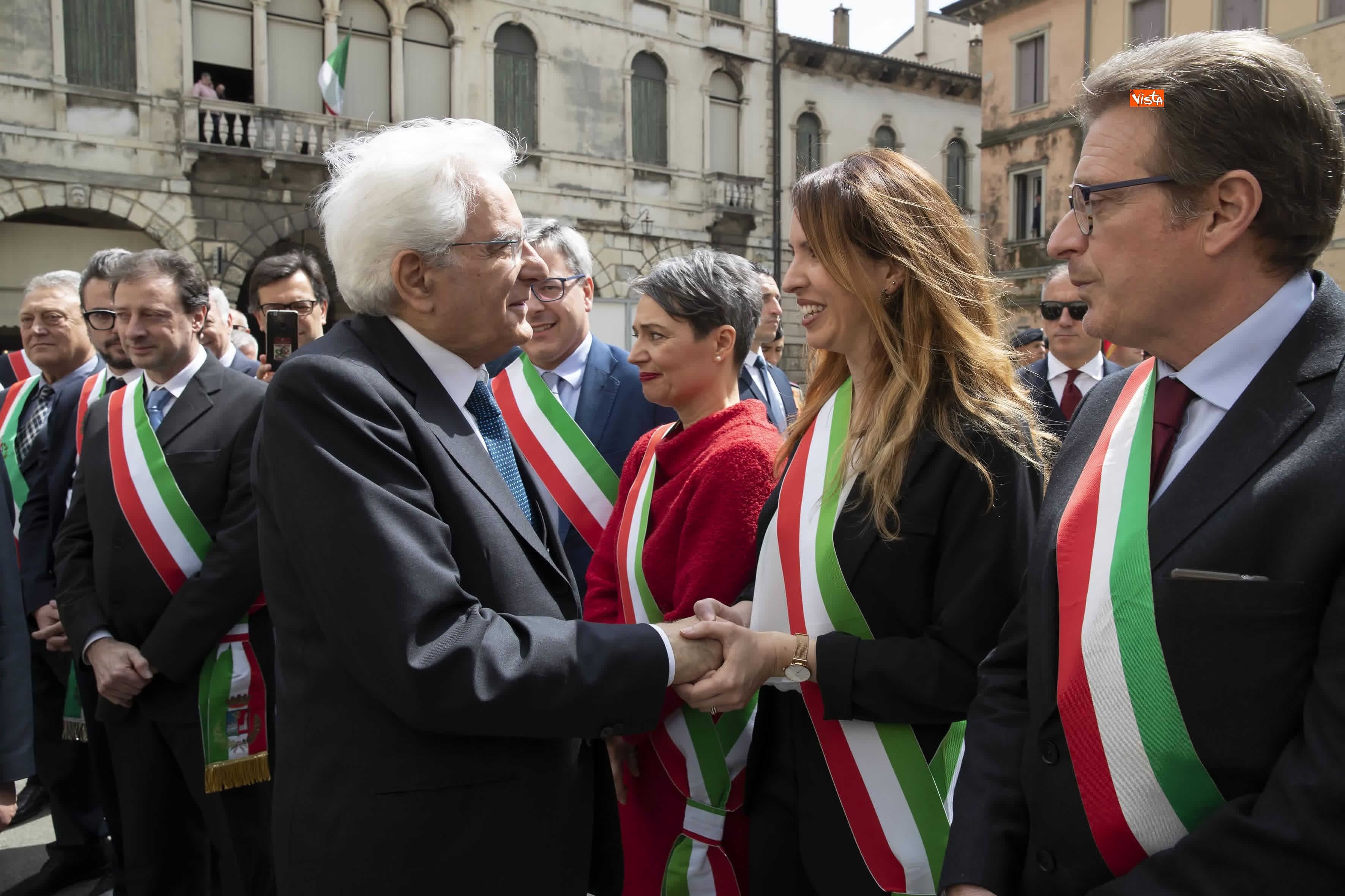 25-04-19 25 Aprile, Mattarella alla Cerimonia in occasione del 74 Anniversario della Liberazione a Vittorio Veneto_12