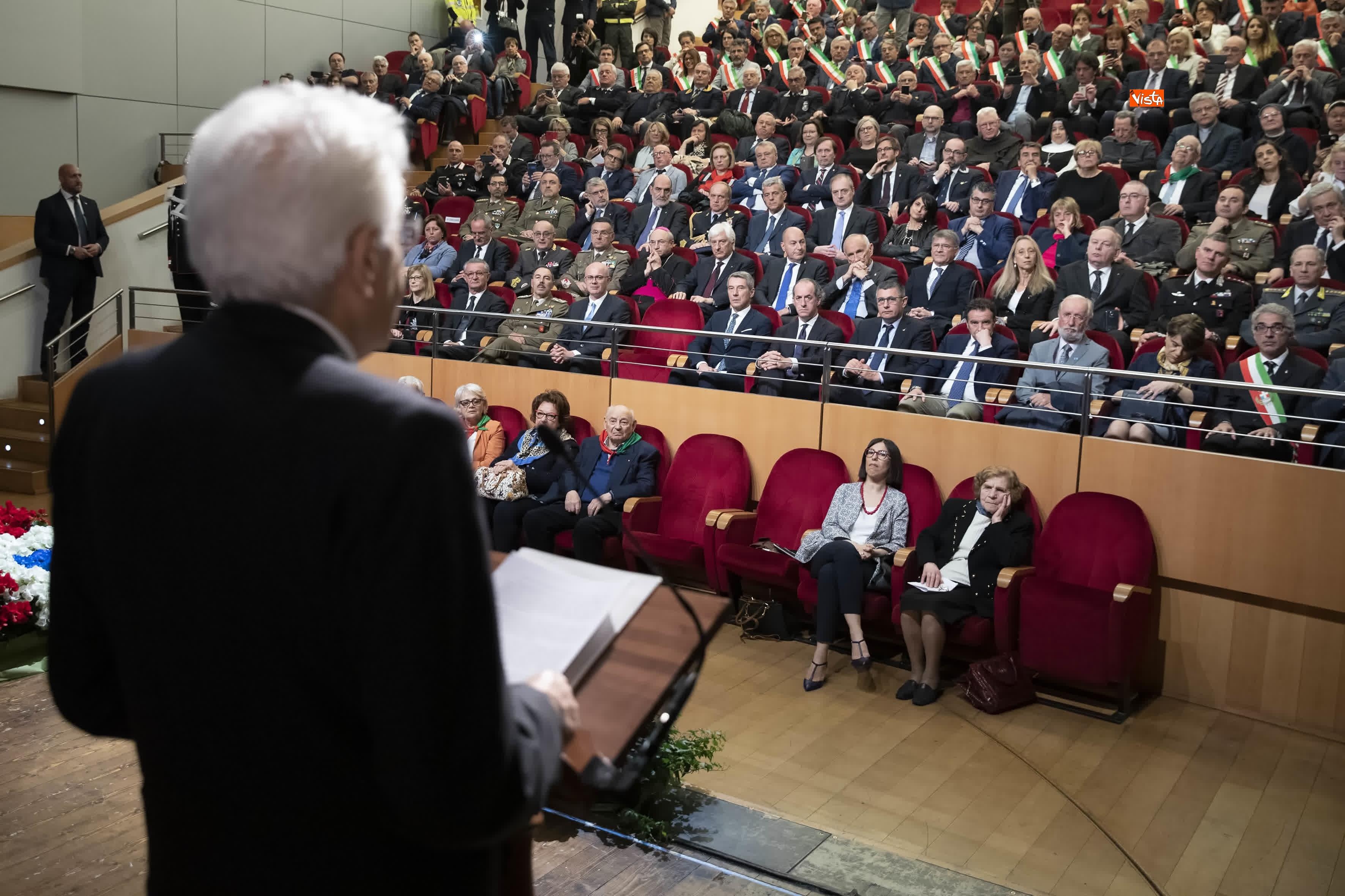 25-04-19 25 Aprile, Mattarella alla Cerimonia in occasione del 74 Anniversario della Liberazione a Vittorio Veneto_09