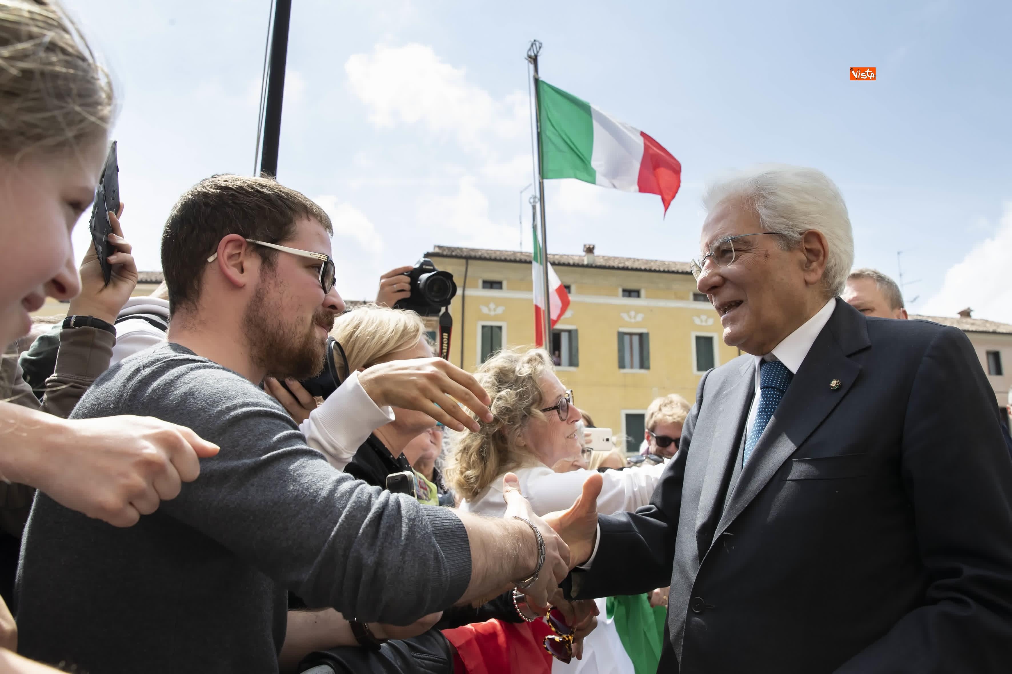 25-04-19 25 Aprile, Mattarella alla Cerimonia in occasione del 74 Anniversario della Liberazione a Vittorio Veneto_22