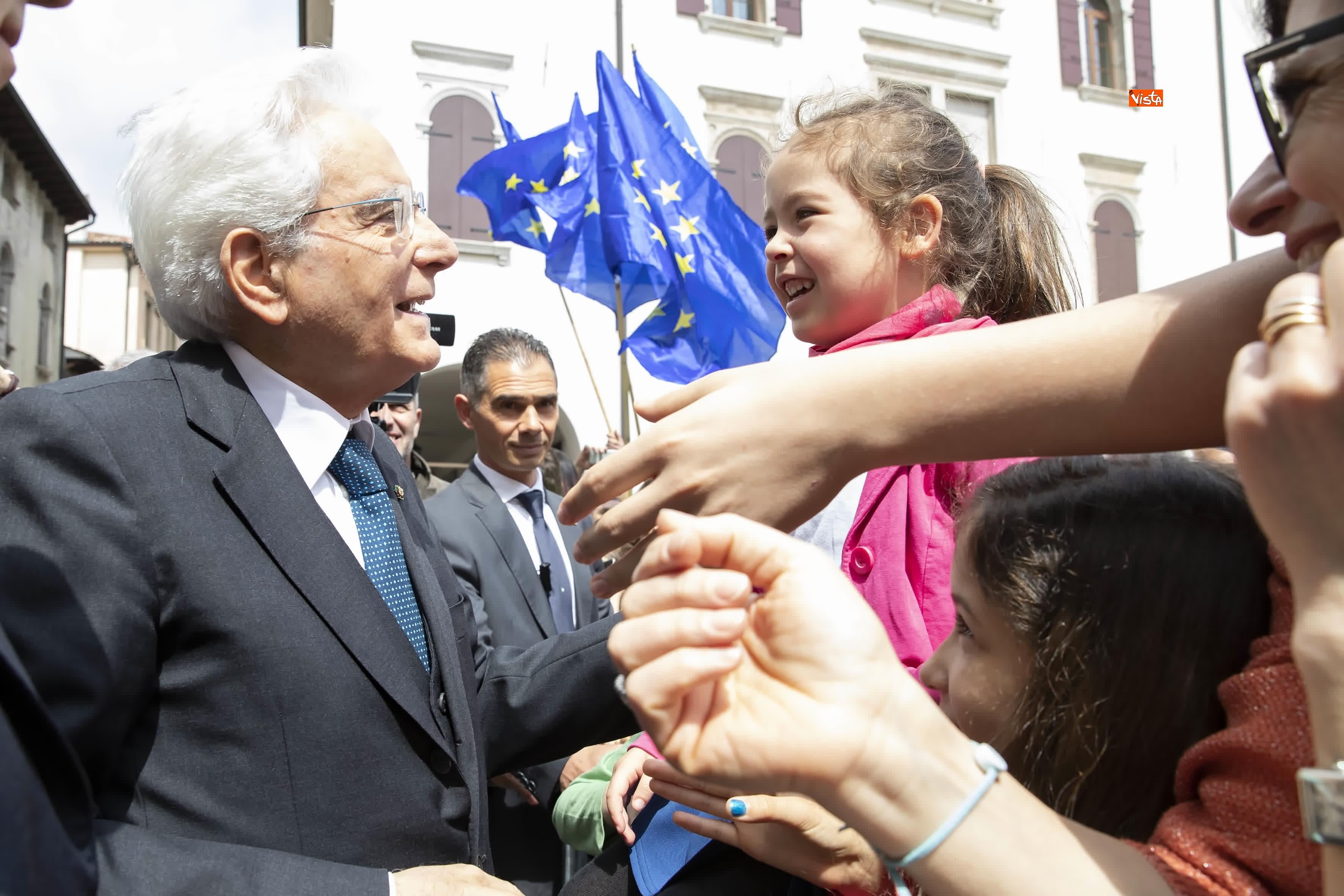 25-04-19 25 Aprile, Mattarella alla Cerimonia in occasione del 74 Anniversario della Liberazione a Vittorio Veneto_17