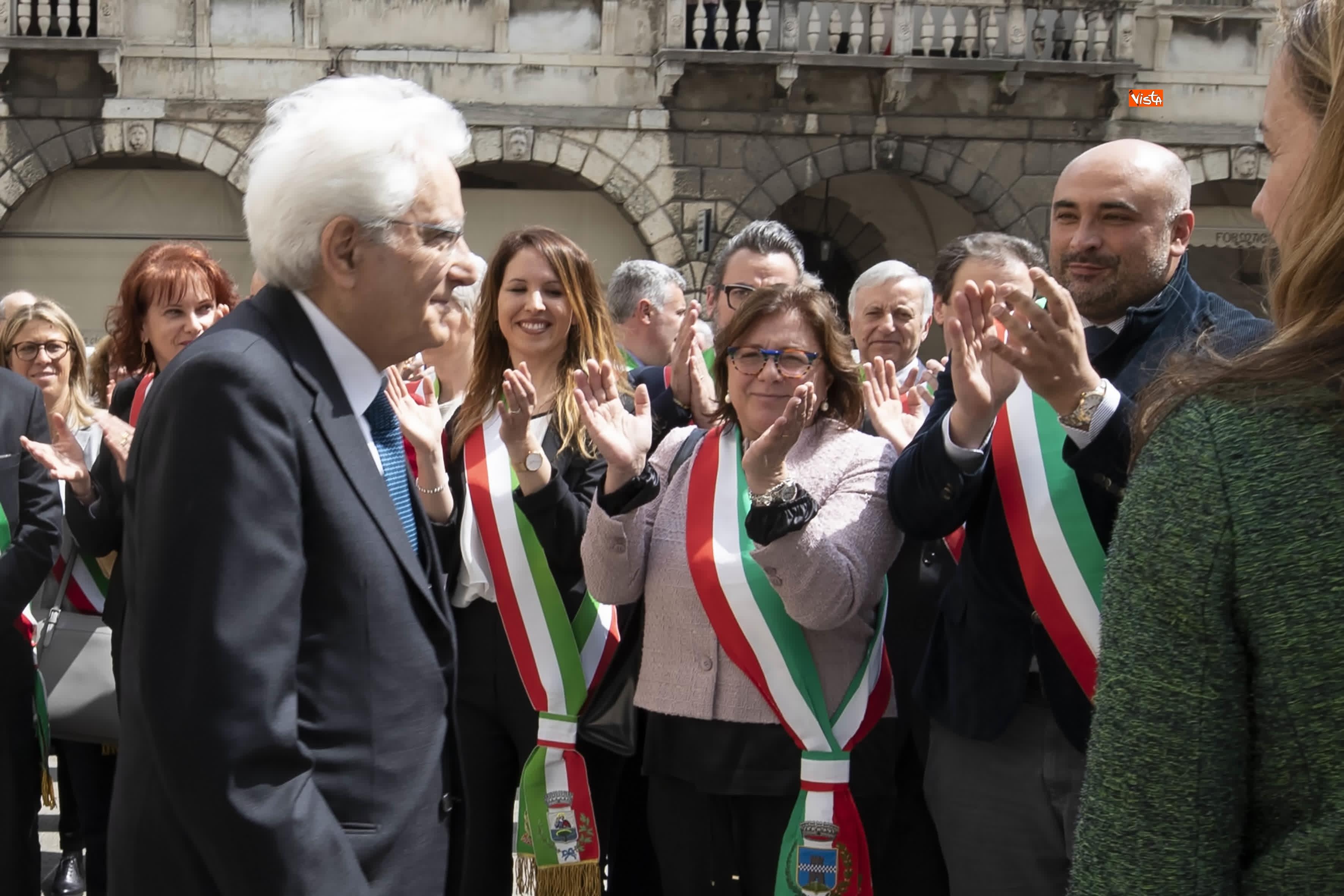 25-04-19 25 Aprile, Mattarella alla Cerimonia in occasione del 74 Anniversario della Liberazione a Vittorio Veneto_14