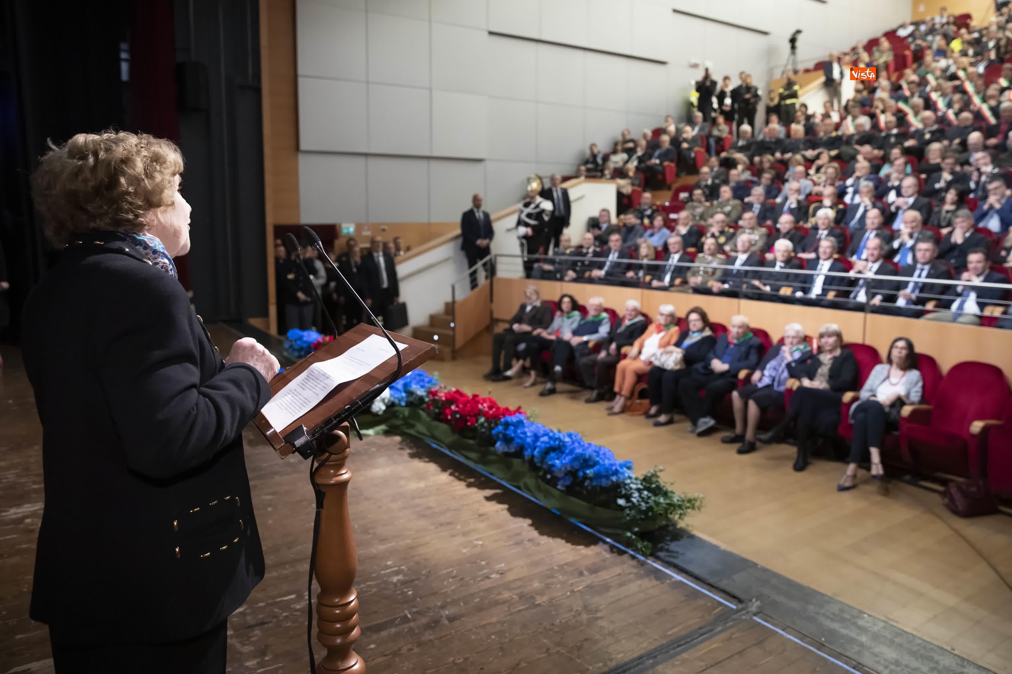 25-04-19 25 Aprile, Mattarella alla Cerimonia in occasione del 74 Anniversario della Liberazione a Vittorio Veneto_08