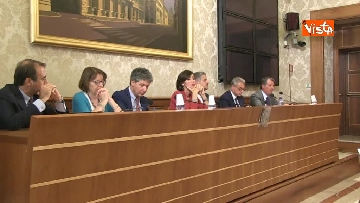 6 - Bernini in conferenza stampa sul dl terremoto