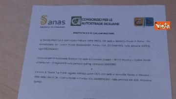 9 - Anas, Cas e Caronte firmano protocollo per efficientamento flussi traffico nello stretto di Messina