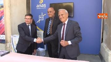 8 - Anas, Cas e Caronte firmano protocollo per efficientamento flussi traffico nello stretto di Messina