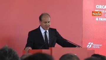 9 - Hub Milano Rogoredo, Fs presenta potenziamento con Battisti, Toninelli, Salvini