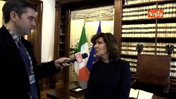 3 - Casellati l'intervista dopo proclamazione: Convergenza su mia elezione incoraggi formazione Governo