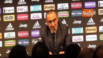 2 - La conferenza di Sarri alla Juventus