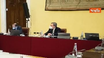 2 - Consultazioni, Draghi riceve la delegazione di Liberi e uguali