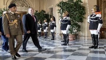 1 - Mattarella riceve al Quirinale il Segretario di Stato degli Stati Uniti d'America, Michael Pompeo