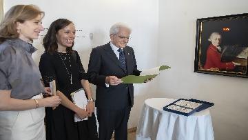 6 - Mattarella nel centro storico di Salisburgo, insieme al Presidente della Repubblica d'Austria