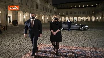 4 - Governo, Draghi arrivato al Quirinale per sciogliere la riserva