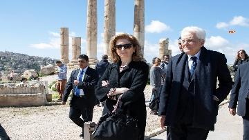 6 - Il Presidente Mattarella al Palazzo Reale ricevuto da Sua Maestà, il Re Abdullah II