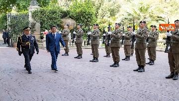 2 - Mattarella accoglie Shinzo Abe, primo ministro giapponese, al Quirinale