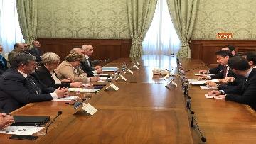 4 - Il Governo incontra i sindacati a Palazzo Chigi