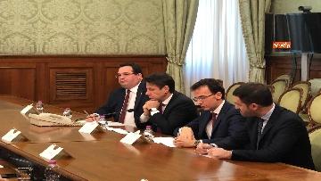 3 - Il Governo incontra i sindacati a Palazzo Chigi