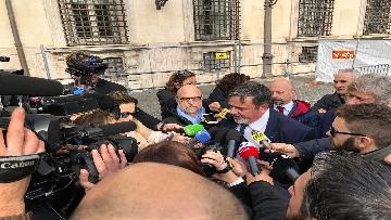 9 - Il Governo incontra i sindacati a Palazzo Chigi