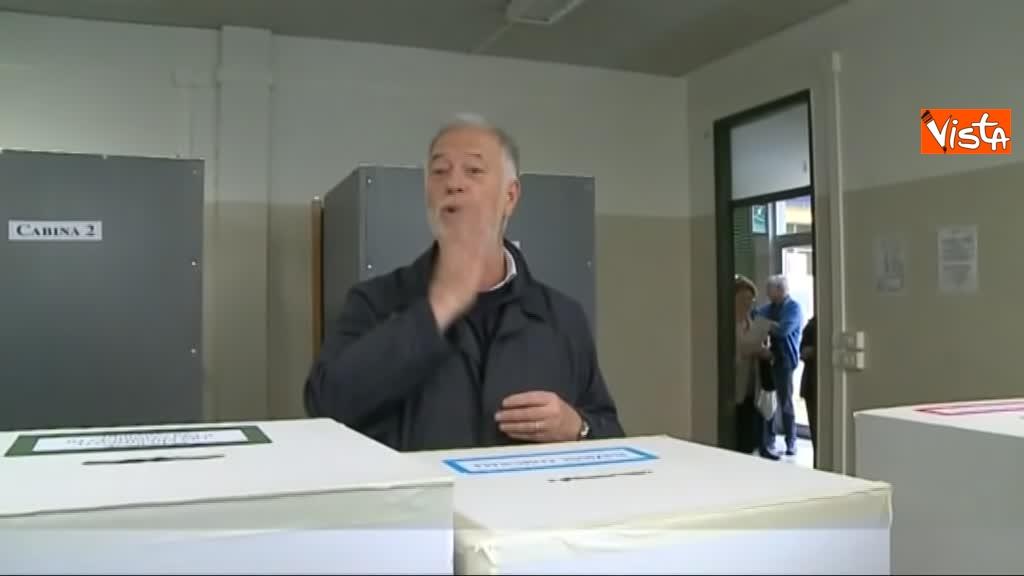 26-05-19 Comunali Firenze il voto del candidato sindaco di centrodestra Bocci_07