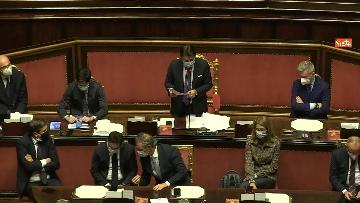 1 - Conte in Aula Senato riferisce su emergenza coronavirus, immagini