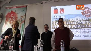 2 - Landini a Torino alla Presentazione del Protocollo regionale contro lo sfruttamento e il lavoro nero