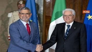 1 - Mattarella incontra il Presidente della Repubblica di Capo Verde