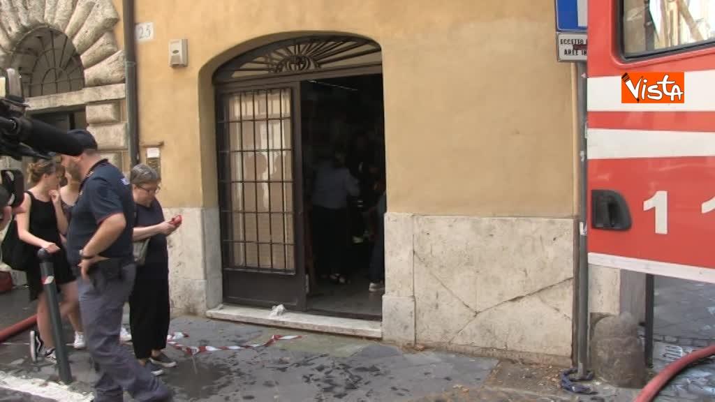14-06-18 Incendio in un appartamento nel centro di Roma 01_533446843165928233489