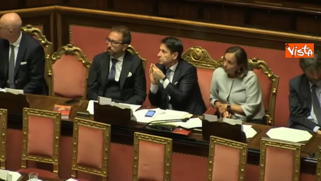 11-09-19 Tutte le bagarre al Senato il giorno della fiducia al Governo Conte 03_